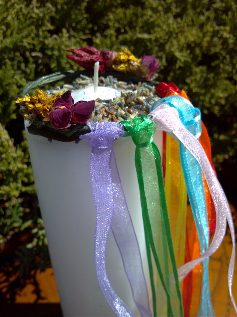 Image result for how to make candle maypole decoration