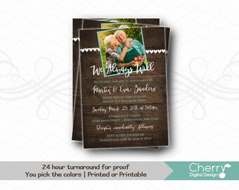 vow renewal invite etsy