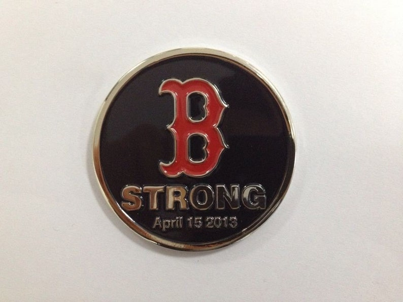 Boston Strong Challenge coin