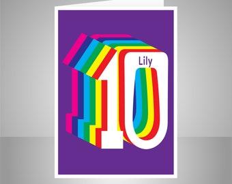 Card di buon compleanno 16 personalizzata per il ragazzo per etsy