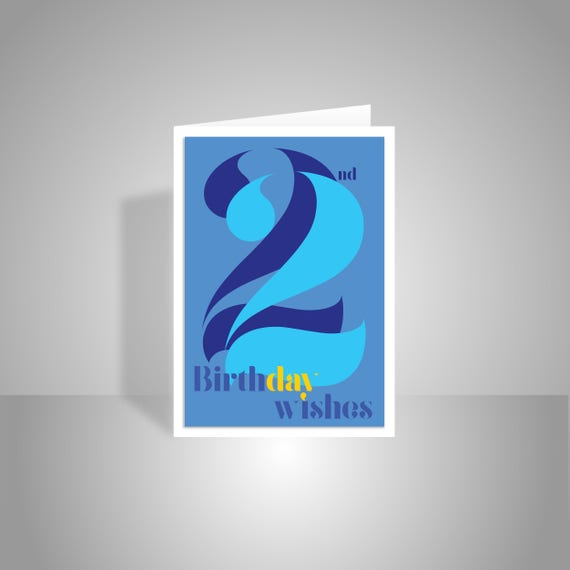 22nd Birthday Wishes Card For Boy Man Male 22 Happy