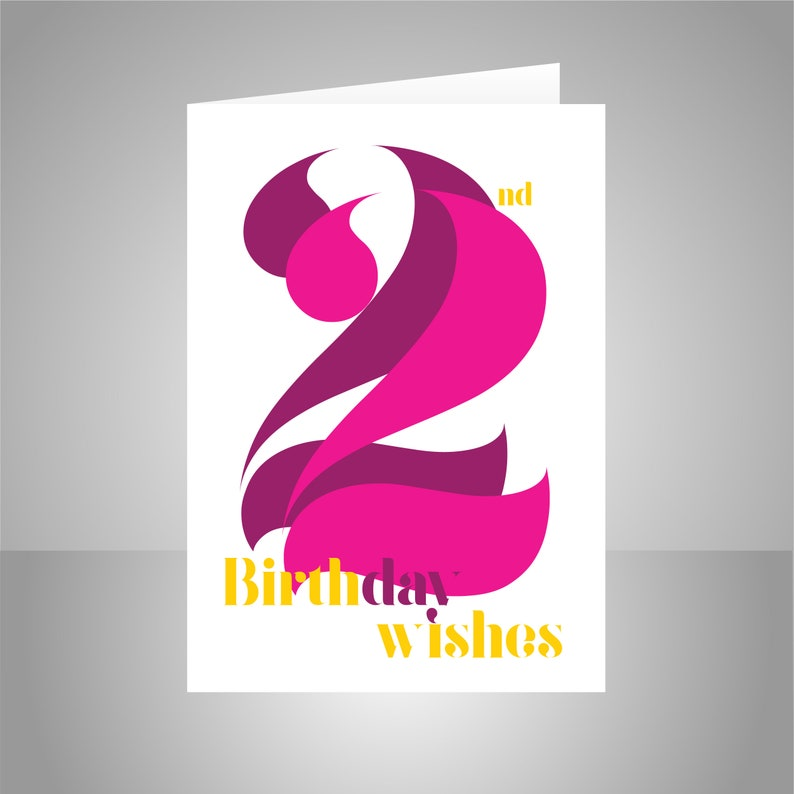 22nd Birthday Wishes Card For Girl Or Woman 22 Happy