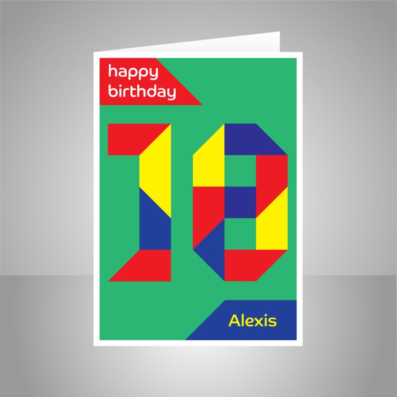 Personalised 18th Birthday Card For Boy Girl Edit Name 18