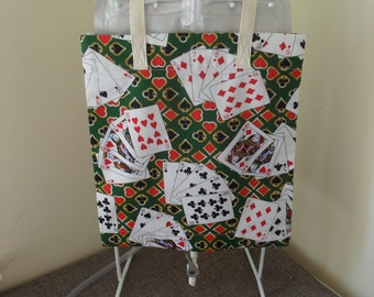 Playing Card Themed Catheter Night Bag Cover