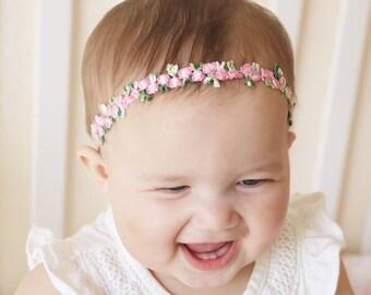 Beige Schleife Kopfband Stirnband Taufe Fest Die Neueste Mode Accessoires Baby & Kinder Haarband Creme