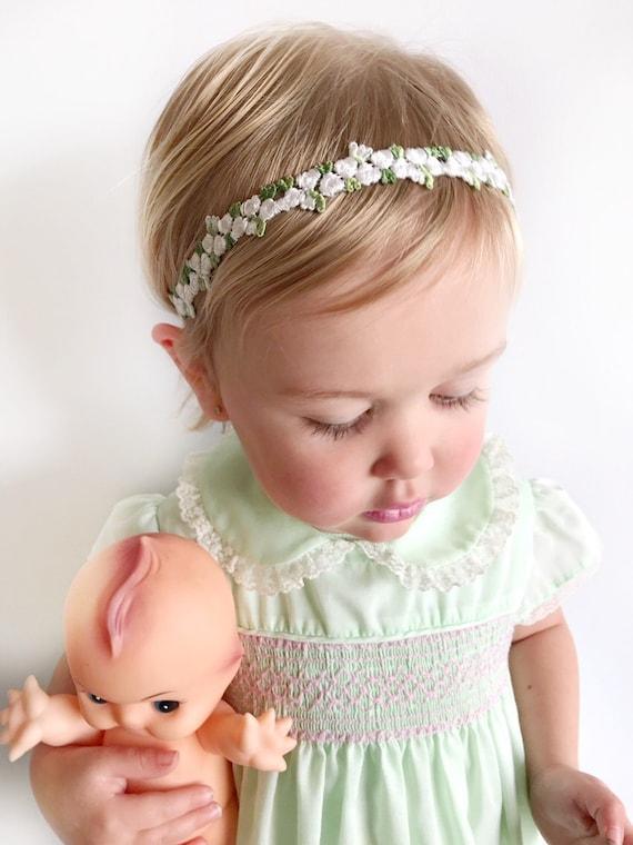 2019 meilleurs chaussures d'automne jolie et colorée Bandeau de fille de fleur, couronne de fille de fleur, bébé fleur couronne,  accessoires de cheveux de fille de fleur