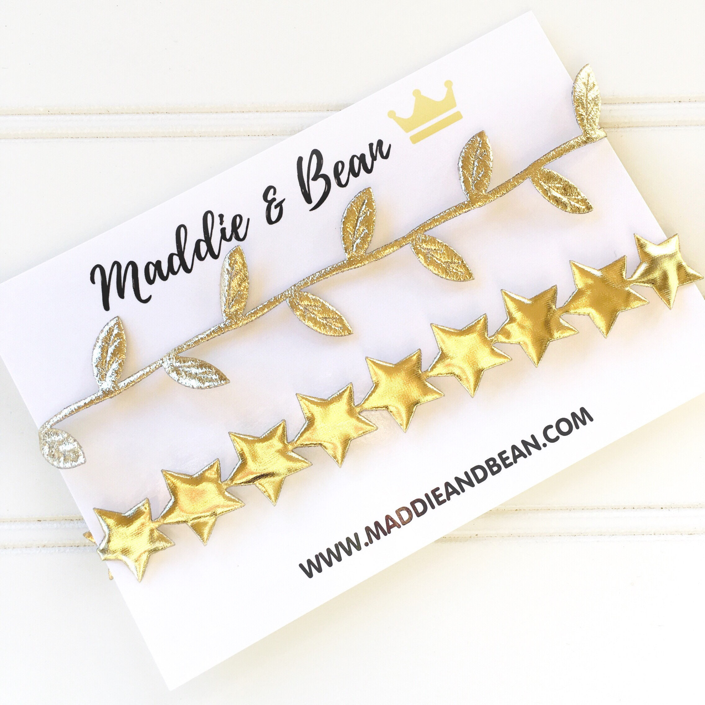 Baby//Girl Toddler Gold//Silver Star Elastic Stretch Party Headband Hairband YJ