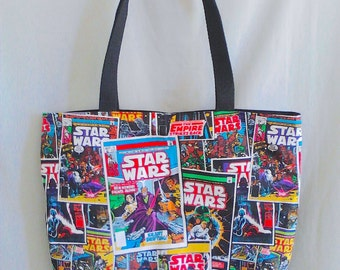 Star Wars Comicbook Tote Bag
