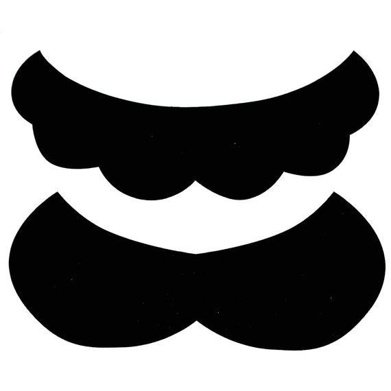 Super Mario Luigi Mustache Sticker Sheet 10 20 50 100 500