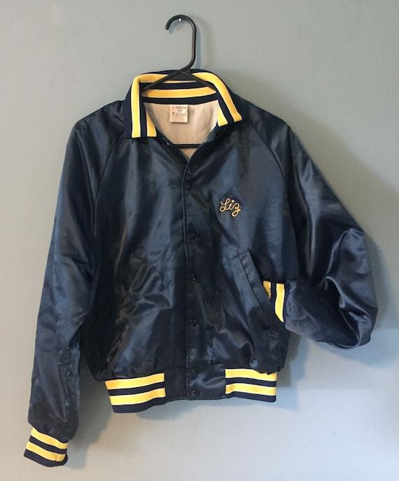 "VINTAGE ""Liz"" Aristo Jac varsity-style jacket"