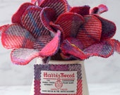 Harris Tweed Flower...