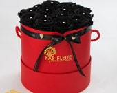 Black  Rose Bouquet in Re...
