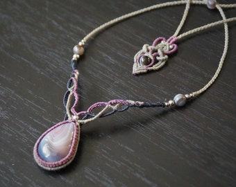 Necklace Micro Macrame