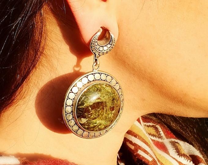 Featured listing image: Øreplugg med Afrikansk Jade