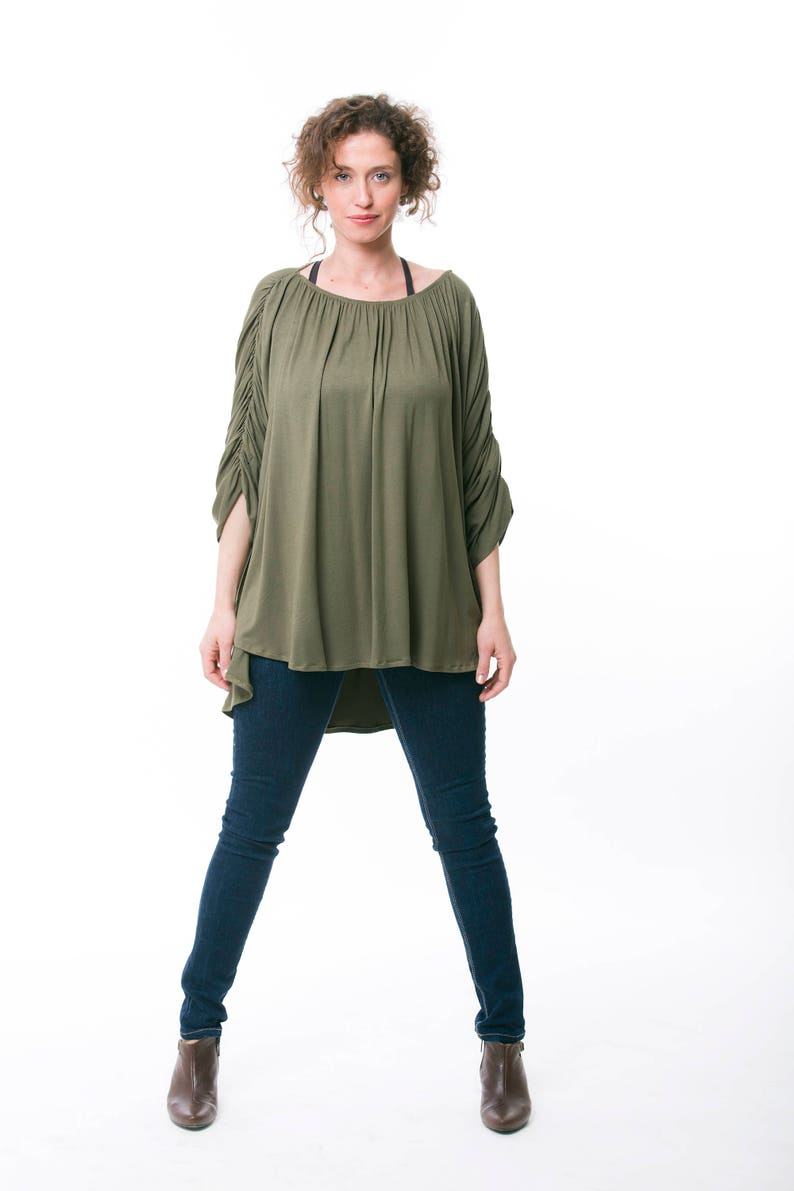 077a947978573 Oversized Shirt For Women Loose Fit Womens Blouse Maternity | Etsy