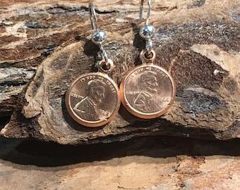 Tiny Penny earrings