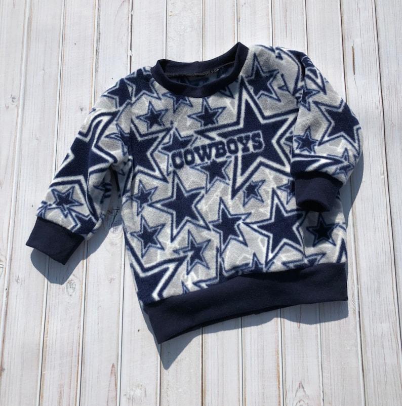 quality design be73d 445d0 Dallas Cowboys Crew sweatshirt, Old School sweatshirt, Cowboys Football,  Toddler Boys and Girls Clothing, Football Fan Clothing, NFL Team
