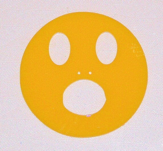 smiley face emoji sympathy open mouth face large bag button etsy