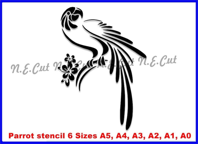 Parrot STENCIL A5,A4,A3,A2,A1,A0  Tough Reusable 350 Micron Material Various Sizes  #PARR03