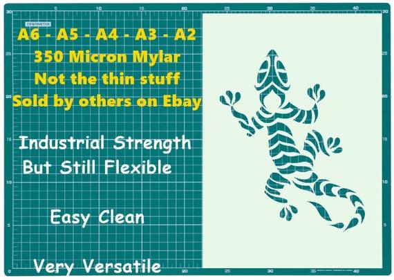 Stylized Ear of Barley Stencil 350 micron Mylar not thin stuff#Farm018