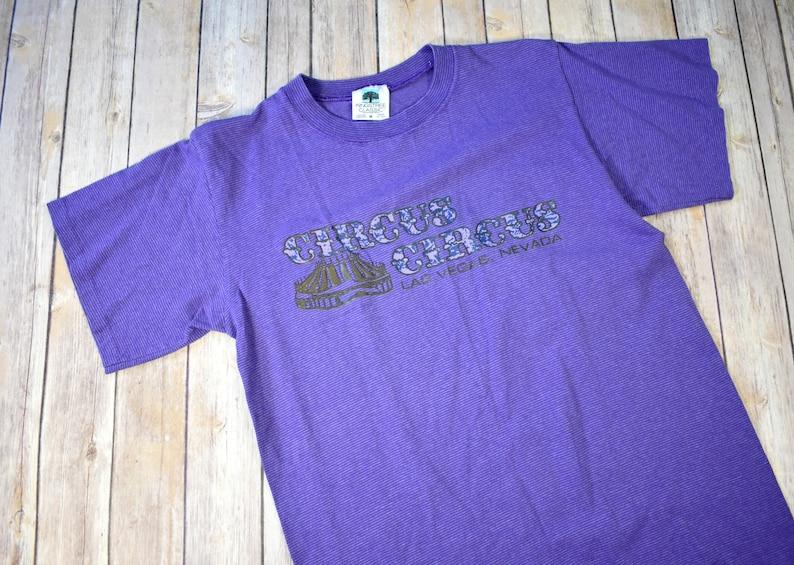 51721184 90s CIRCUS CIRCUS T-Shirt Las Vegas Nevada // Size Medium Mens | Etsy