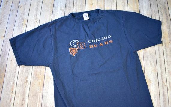 90s CHICAGO BEARS T-Shirt Tshirt Shirt    Size Medium Mens  3c48d4d3f