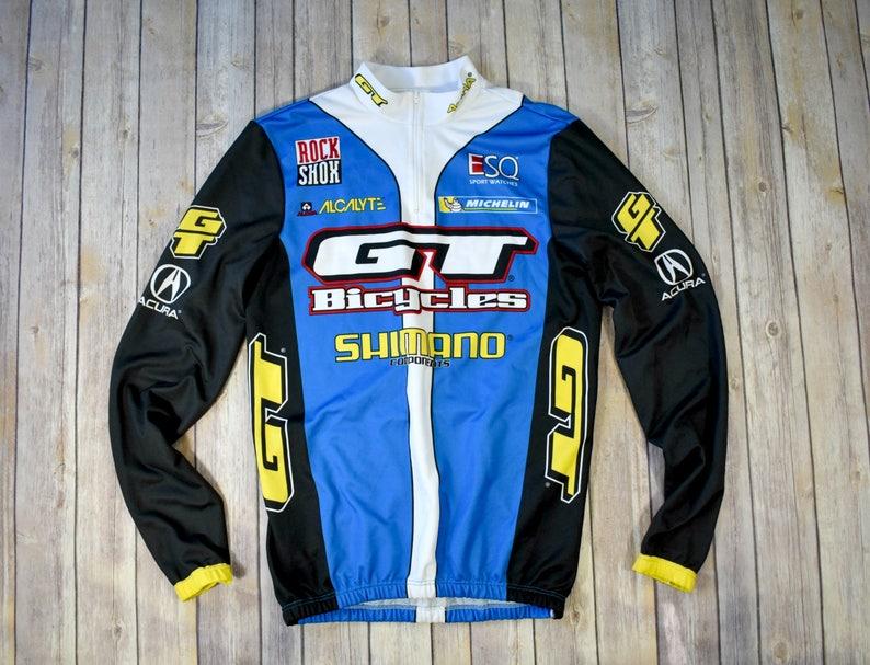 90s CYCLING JERSEY Shirt    Size Large Mens Womens    Bike  9a739fa88