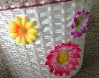 Daisy Bicycle Basket for Child's Bike