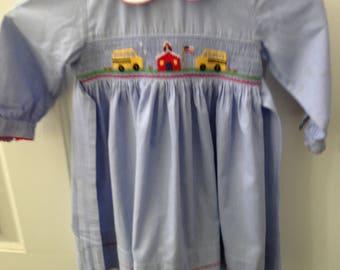 Back to School Anavini Smocked Dress
