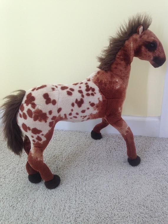 Large Stuffed Animal Horse Toy Etsy