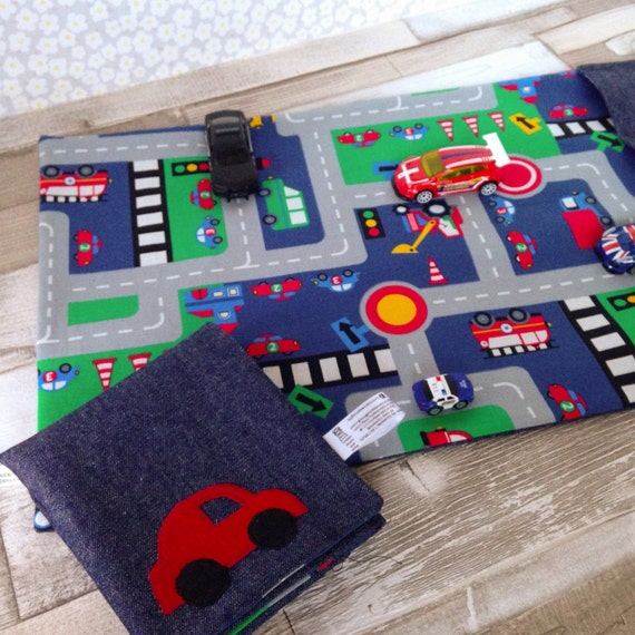 Toy Car Mat Childrens Road Play Mat Large Size Toy Car Etsy