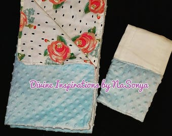 Baby Blankets and Burp Cloths