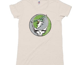 bf9f32c418d Stealadelphia Football Ladies Old School Tri Blend T-Shirt
