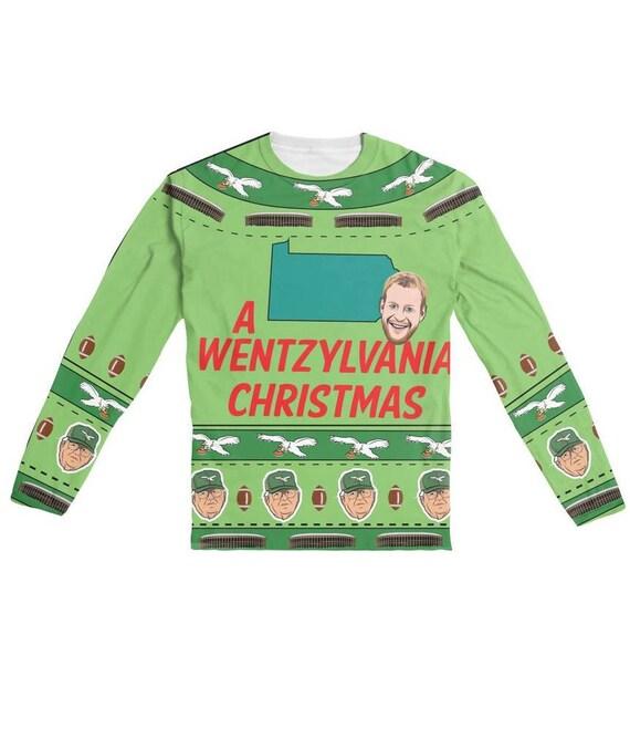 a wentzylvania christmas adult ugly christmas sweater shirt etsy - Adult Ugly Christmas Sweater