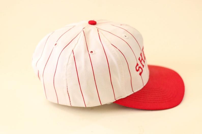 03dda4e0b2d734 Shelby pinstripe baseball cap   Etsy