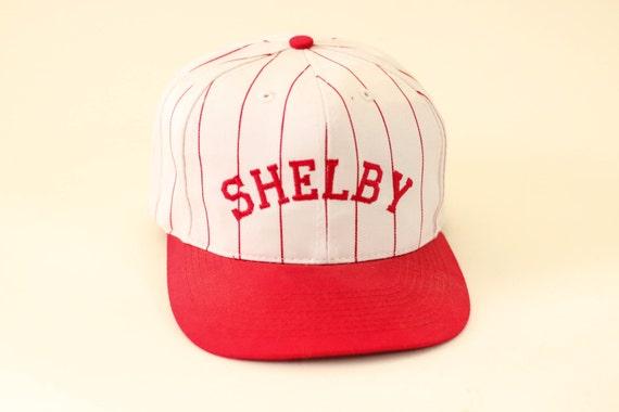 6320b07f081f4 Shelby pinstripe baseball cap