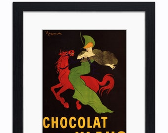 AD19 Vintage 1903 Chocolat Klaus Swiss Chocolate Advertisement Poster A4