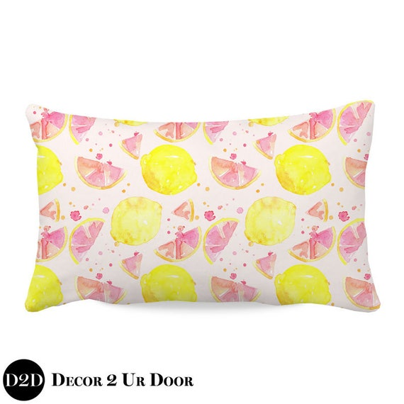 Girls Pillow, Nursery Throw Pillow