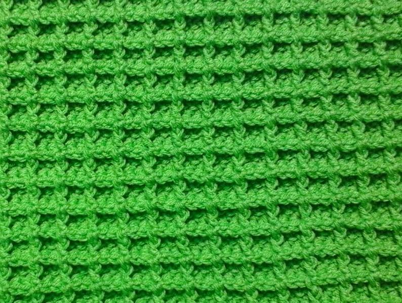 Baby Blanket Crochet Blanket Waffle Stitch Crochet Afghan Etsy