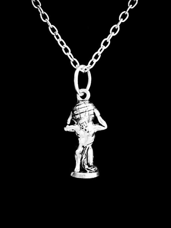 Atlas The Titan Necklace Greek Mythology Necklace Greek God Etsy