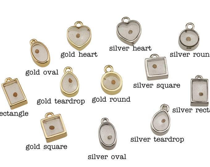 Add a mustard seed charm to any item