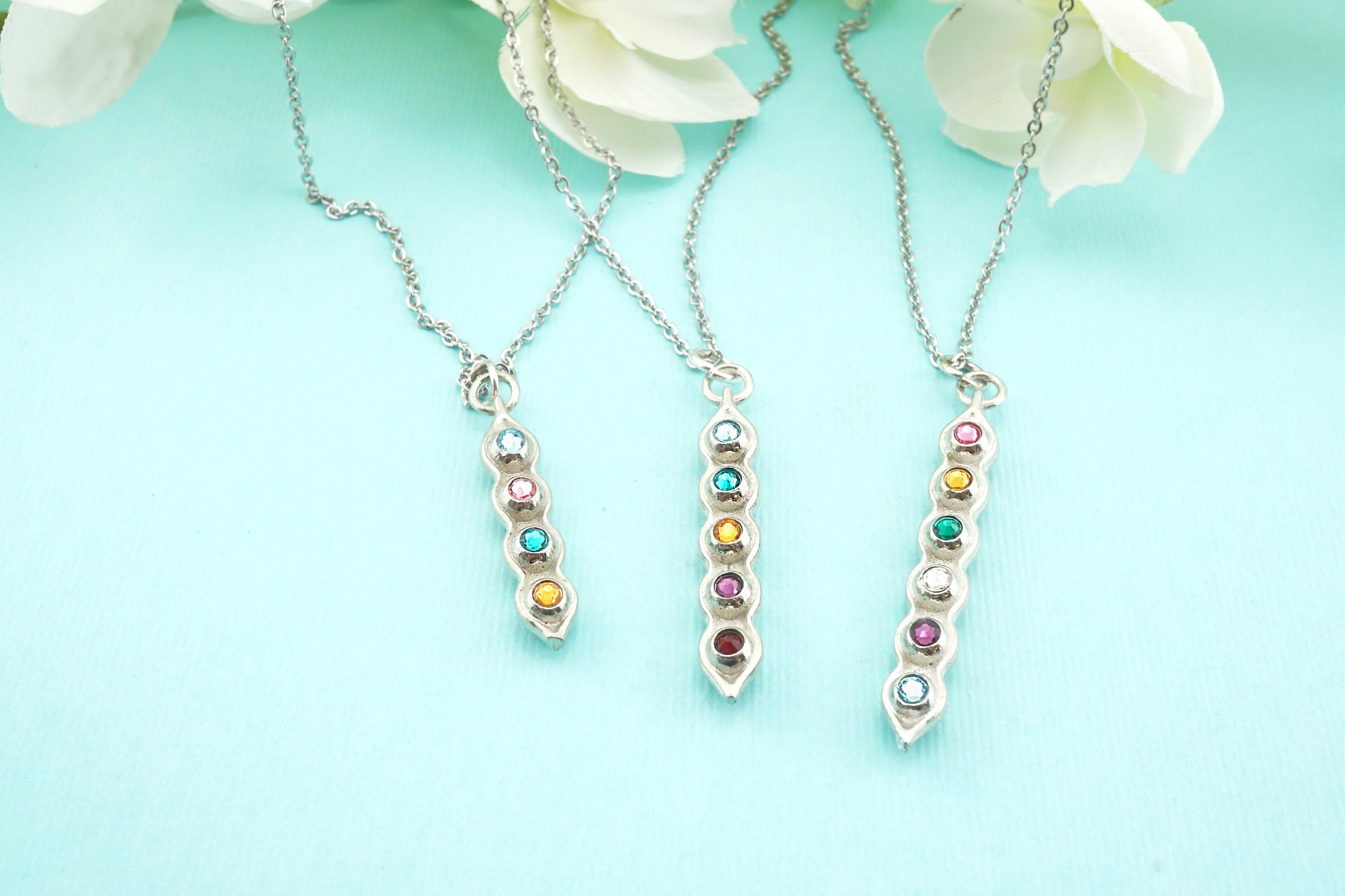 pea lila products set international necklace fashion snow