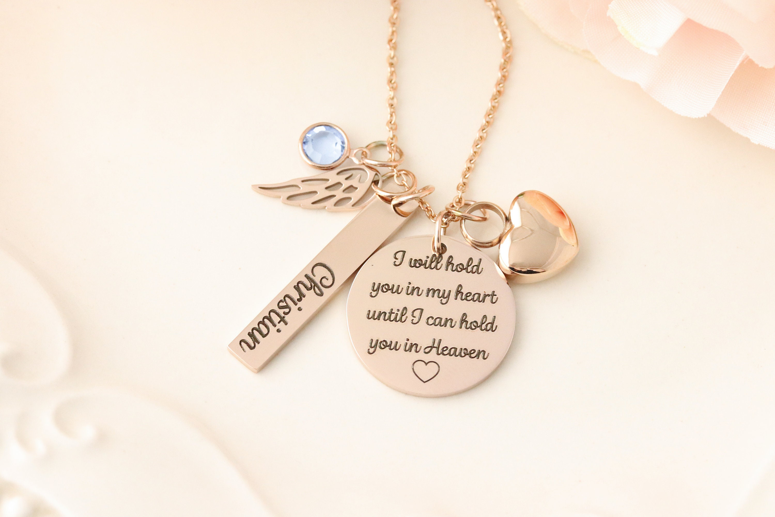 Urn Memorial Necklace Cremation Urn Jewelry Personalized Urn