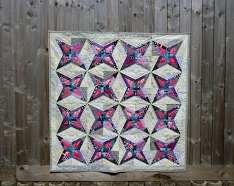 Kaleidoscopic quilt pattern by Nellie's Niceties