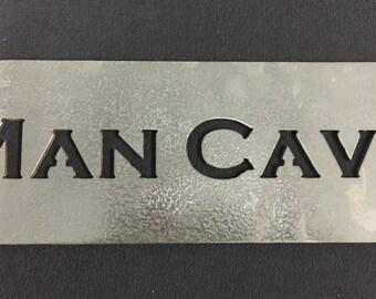 "12"" Man Cave Sign"