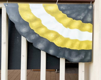 Saints Bunting - Home Malone, Black & Gold, House Float, New Orleans Who Dat, Cute Football Outdoor Decorations, Wholesale, Color Rush
