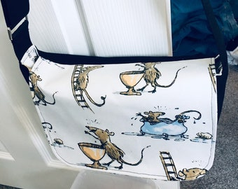 Witches Mice Messenger Bag