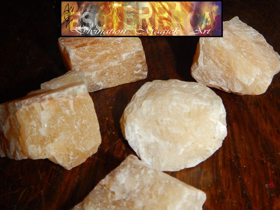 Ethically Sourced 1 inch YELLOW AVENTURINE natural healing crystal stone