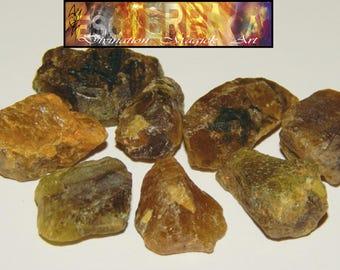 GENUINE TITANITE - Genuine Rough Sphene - 10+ct Titanite Crystals - Rough Titanite - Metaphysical Crystals - Reiki - Chakra Stones - Sphene