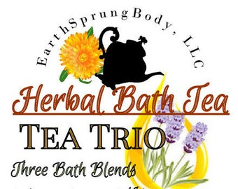 Herbal Bath Tea, 3 pkg. variety